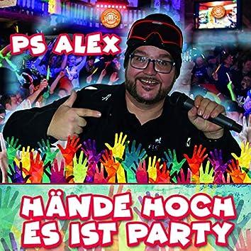 Hände hoch, es ist Party