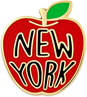 New York Big Apple Jewelry Souvenir Enamel Lapel Pin