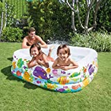 xyywqybg Aufblasbarer Pool Kinder-Spielpool Indoor-Wasserpark Großer Baby-Badepool-Kinderaquarium