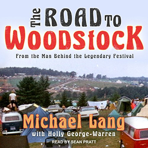 The Road to Woodstock audiobook cover art