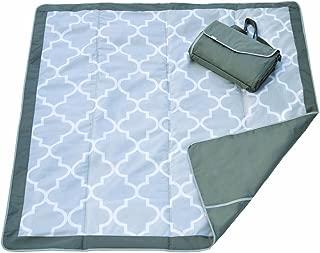 JJ Cole Outdoor Blanket, 5'X'5, Stone Arbor