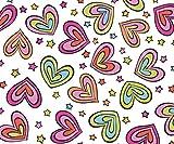 Paño de limpieza de microfibra con diseño de corazones...