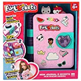 Funlockets, il mio diario a segrets, diario personale, giocattolo creativo, cancelleria, bambini