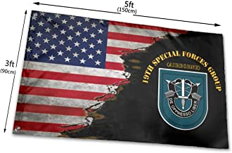 19th SFG Flash Nineteen Home Flags 3 X 5 in Indoor&Outdoor Decorative Home Fall Flags Holiday Decor