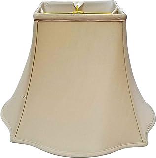 Royal Designs DDS-212-10CR 5 x 10 x 9 Square Empire Patterned Designer Lamp Shade Cream Inc.