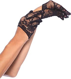 Leg Avenue Womens Mini Lace Gloves