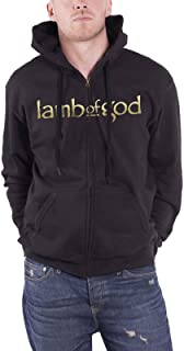 Lamb of God Men`s Anime Official New Zipped Hoodie