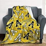 Appalachian State University Fleece Blanket, Anime Cartoon Warm Ultra-Soft Throw Blanket, Fashion Home Decoration Blanket 60''×80''