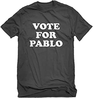 Indica Plateau Mens Vote for Pablo T-Shirt