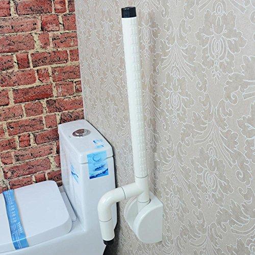 Acero inoxidable 304, nylon foldering reposabrazos, ancianas discapacitadas wc WC baño bipolar monopolar barandillas de seguridad , blanco