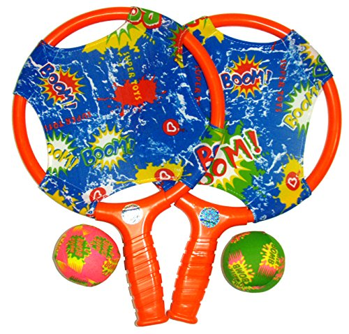 Water Sports Itza Paddle Ball with Splash Balls (Colors May Vary)