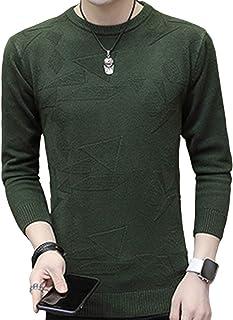 [エスアンドワイ] 6カラー セーター ニット 長袖トップス ラウンドネック カジュアル 秋冬 メンズ M~2XL