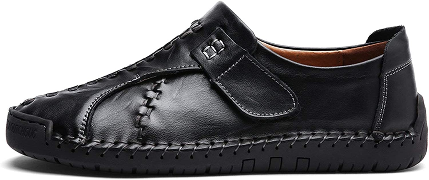 ALWAYS ME Loafers Casual shoes Sneakers Men Genuine Leather shoes Flat Slip On Moccasins Male Footwear