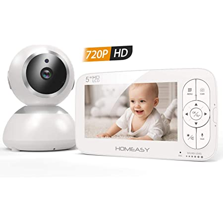 ideal f/ür Mamas /& junge Familien zus/ätzliche SpaceView Babyphone Kamera smarte Nachtvision 720p HD starke Akkuleistung einfache Installation Video-Babymonitor eufy Security Babyphone