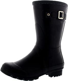 Womens Original Short Festival Waterproof Wellie Snow Wellingtons Boots