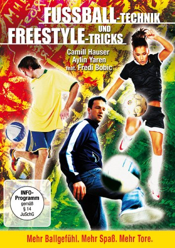 Fussball-Technik und Freestyle-Tricks