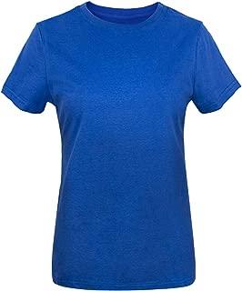 Women's Heavyweight Thick Cotton Basic Soft T-Shirts