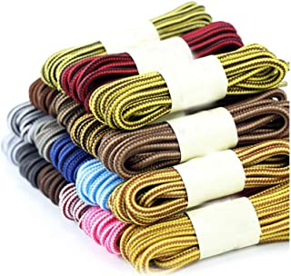 1 Pair Solid Color Round Shoelaces Casual Sneakers Leather Shoes Laces