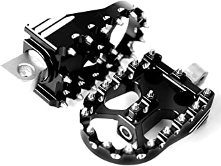 Deep Rotating Footpegs Custom Chopper Foot Pegs For Harley Touring Sportster Dyna XL Softail