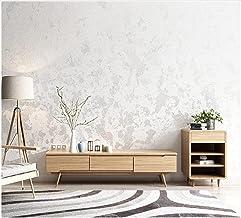 3D Modern Behang PVC Pure Pigment Kleur Wit Gebroken Wit Behang Achtergrond Roll Decoratie Slaapkamer TV Muur Woonkamer -5...