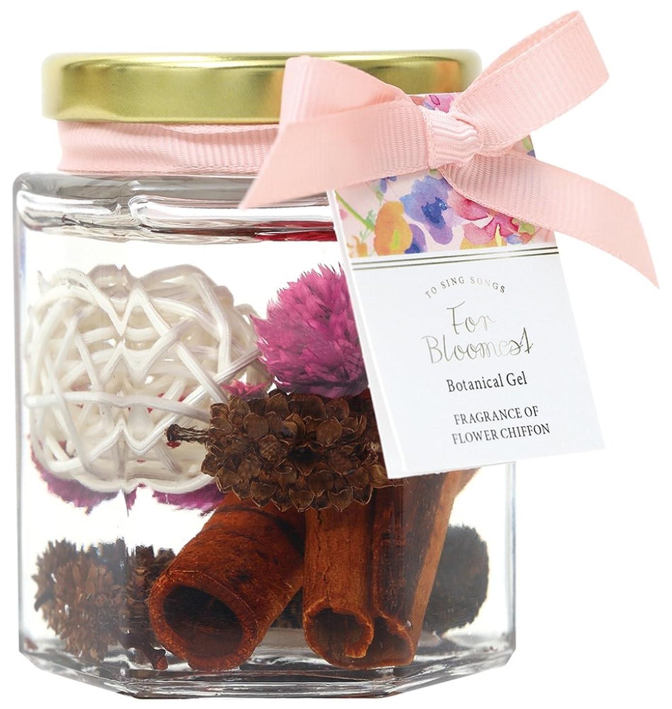 お誕生日魅力上院議員ノルコーポレーション ルームフレグランス ブルーミスト ボタニカルジェル フローラルの香り 80ml OA-FTF-2-1