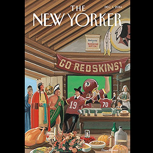 The New Yorker, December 1st 2014 (David Remnick, George Packer, Sasha Frere-Jones) audiobook cover art