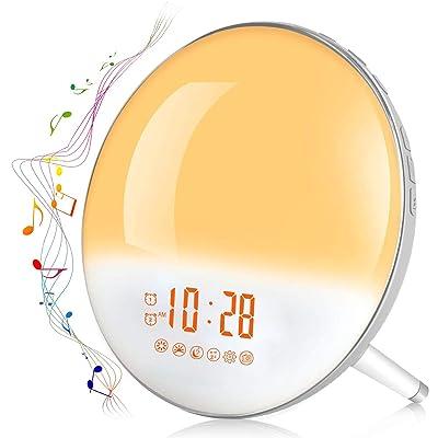Sunrise Alarm Clock, Te-Rich Wake Up Light with...