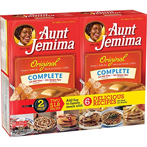 Aunt Jemima Original Pancake and Waffle Mix 5 Pound Pack of 2