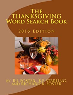 The Thanksgiving Word Search Book: 2016 Edition