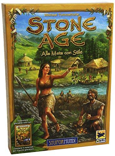 Giochi Uniti Stone Age Alla Meta con Stile - Expansión para Juego...