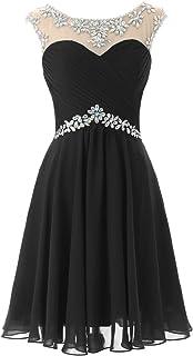 DRESSTELLS Short Prom Dresses Sexy Homecoming Dress Chiffon Birthday Party Dress