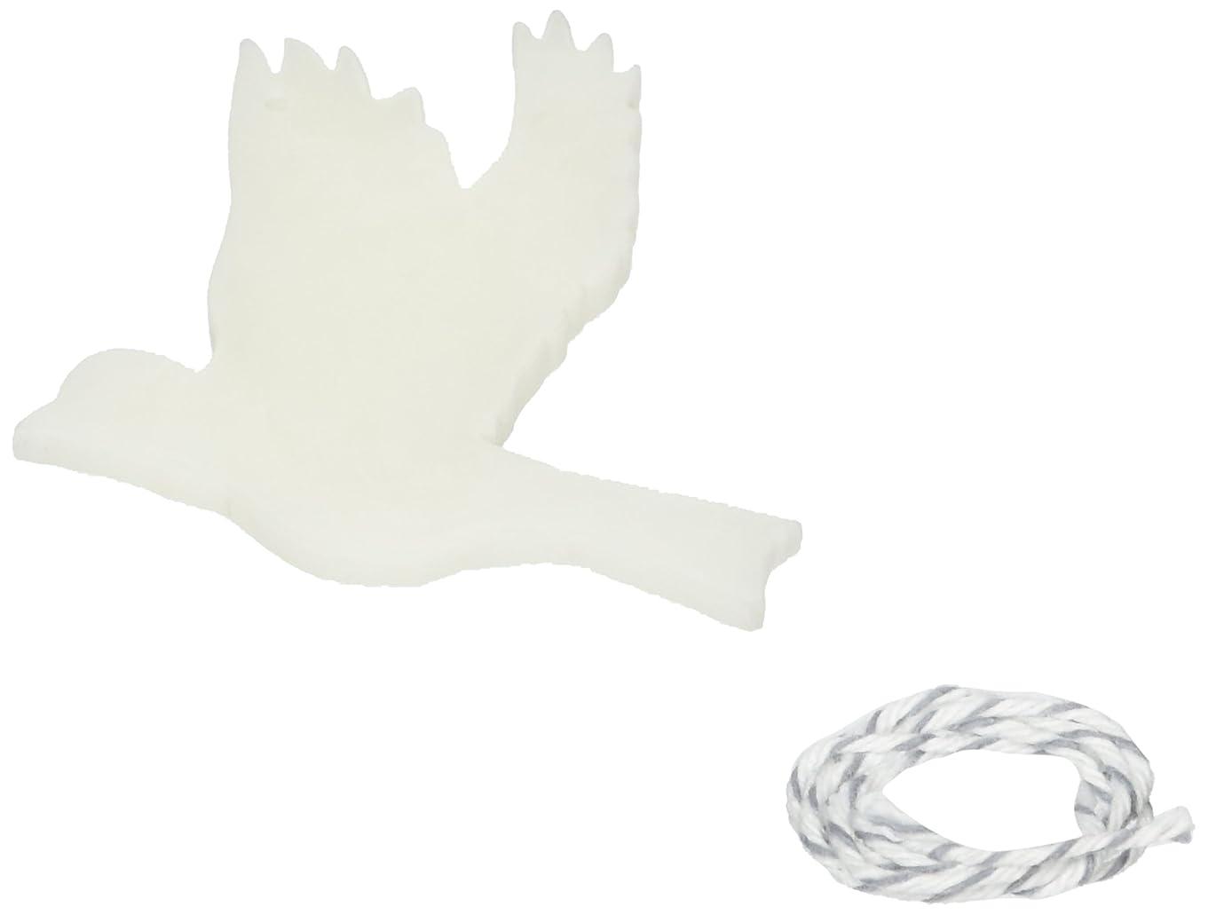 モッキンバードレタッチ桃GRASSE TOKYO AROMATICWAXチャーム「ハト」(WH) スイートマジョラム アロマティックワックス グラーストウキョウ