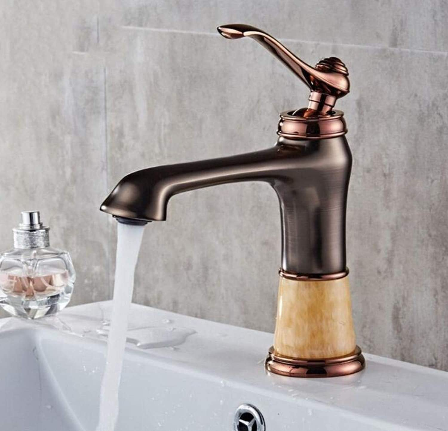 Modern Waterfall Copper Hot and Cold Kitchen Sink Taps Kitchen Faucet Basin Hot and Cold Water Faucet