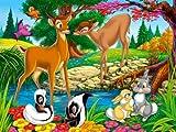 Von Canvas35Kinder Schlafzimmer Wand Kinderzimmer Cartoon