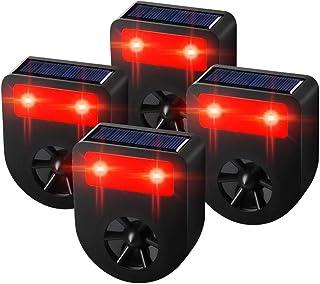 Kcasa Kc-jk369 Garden Ultrasonic Pir Sensor Solar Animal Dispeller