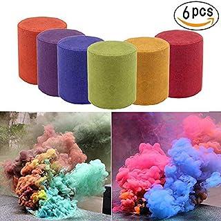 Color humo pastel píldora estudio fotografía apoyos colores pastel de humo colorido efecto show tipo anillo