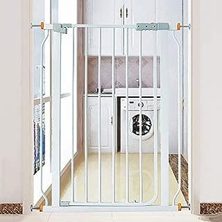 ペットゲート 赤ちゃんの安全ゲートハースゲートメタルルームディバイダーペットフェンス分離ドアはありません掘削 (Size : 89-98cm)