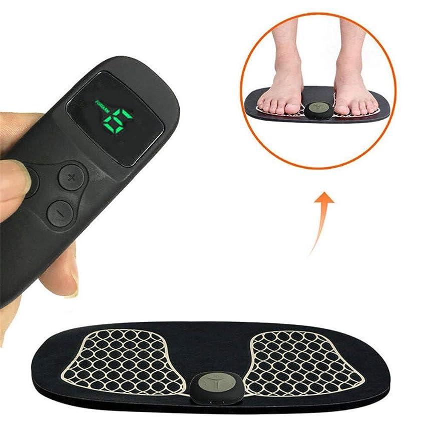 ハックすなわち月曜EMSフットフィット、フットトリートメントマッサージのための足の筋肉マッサージ刺激装置理学療法は、痛みを軽減し、疲労を軽減します