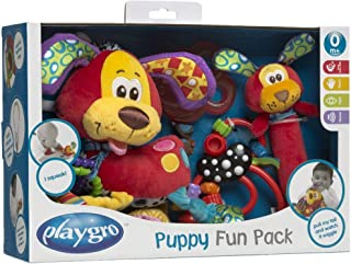 Playgro Infant Developmental Gift Pack Soft Toy [Multicolor, PG0182809]