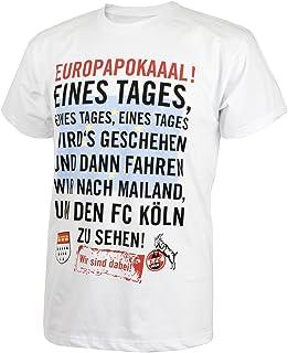 "1. FC Köln T- Shirt ""Europapokaaal Gr. S-5XL"
