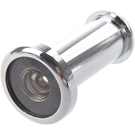 Guckloch Türspion Tür Viewer mit Verschlusskappe für Türblattstärke 35-60mm