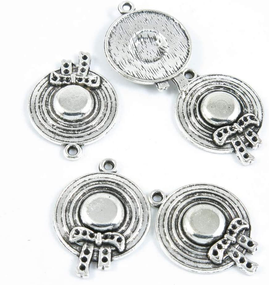 Max 83% OFF 820 Pieces Antique Silver Tone Ranking TOP3 Jewelry Charms Making Crafting Be