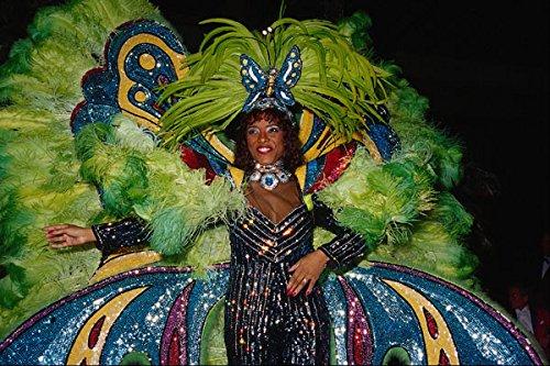 675080 Kostuum Voor Braziliaanse Carnaval A4 Photo Poster Print 10x8