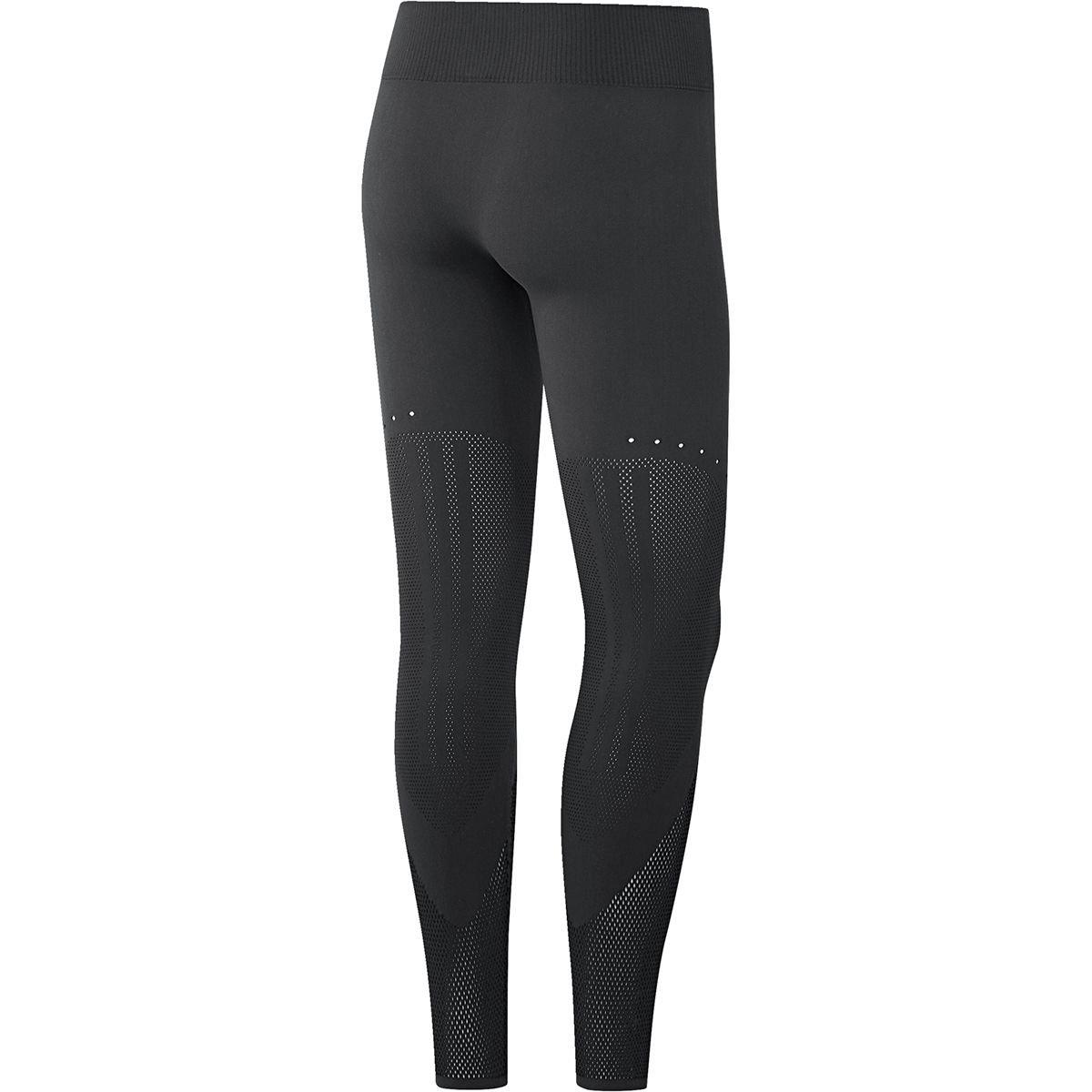 Peregrinación barbilla cesar  Amazon.com: adidas Warp Knit Tight - Women's Carbon/Black, S: Clothing