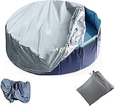 CONSUNDYTT Cubierta para BañEra De Hidromasaje, Cobertor para Piscina con Redondo Usado para Piscinas