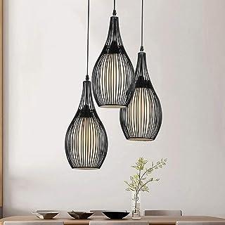 E27 Métal Retro Suspensions Luminaire Lampe Industriel Vintage Plafonnier Luminaire Créatif Art Désign Lampe suspendue pou...