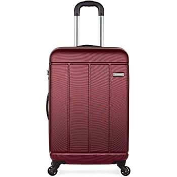 Antler Pluto Exclusive, Strong & Durable Hard Shell Suitcase - Colour: Red, Size: Medium
