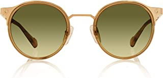 Kingsley Rowe Oscar : Unisex, round, Classic, Retro, Nerd, UV Protection Sunglasses, 48-22-140