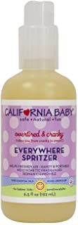 California Baby Overtired and Cranky Aromatherapy Spritzer Pillow and Bed Spray | 100% Plant Based | Overtired and Cranky ...