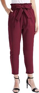 CHICIRIS Women's Leisure High Waist Pants Autumn Wide Leg Trousers Party Outdoor